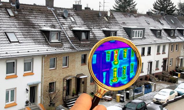 Höchste Energieeffizienz durch thermographische Untersuchung